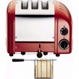 Dualit 2 + 1 Combi Vario 3 Slice Toaster Red 31214