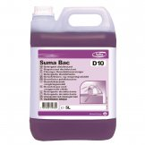 Suma Bac D10 Cleaner and Sanitiser 5 Litre (Pack of 2)