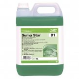 Suma Star D1 Washing Up Liquid 5 Litre (Pack of 2)