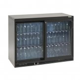 Gamko Bottle Cooler - Double Sliding Door 275 Ltr