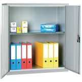 Standard Cupboard Grey 1 Shelf