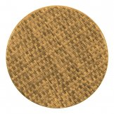 Werzalit Pre-drilled Round Table Top  Natural Rattan 600mm