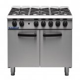 Blue Seal 6 Burner Oven Range Medium Duty Natural Gas G750 6