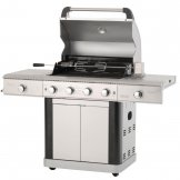 Lifestyle St Lucia Gas BBQ c/w Rotisserie, Lights & Bottle Opener LFS681