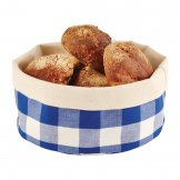 APS Bread Basket Round Large Blue