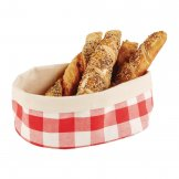 APS Bread Basket Oval Large Red