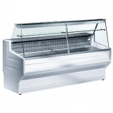 Zoin Hill Slimline Deli Serve Over Counter Chiller White 2500mm HL250B