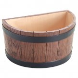 Beaumont Barrel End Wine And Champagne Bucket Half