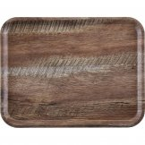 Cambro Madeira Laminate Canteen Tray Dark Oak 460mm