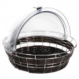 APS Frames Polyratten Round Basket with Frame