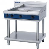 Blue Seal Evolution Cooktop 2 Element/Griddle Electric on Stand 900mm E516B-LS