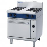Blue Seal Evolution 4 Burner Static Oven LPG 750mm G505D/L