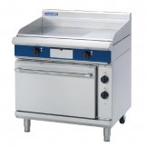 Blue Seal Evolution Chrome 1/3 Ribbed Griddle Static Oven Electric 900mm EPE506