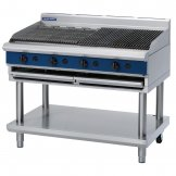 Blue Seal Evolution Chargrill with Leg Stand LPG 1200mm G598-LS/L