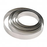 De Buyer Stainless Steel Mousse Ring 200 x 45mm