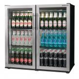 Autonumis Popular Double Hinged Door Maxi Back Bar Cooler St/St Door A21090