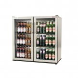 Autonumis EcoChill Double Hinged Door 3Ft Back Bar Cooler St/St A215203
