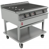 Falcon Dominator Plus 4 Hotplate Boiling Table With Castors E3121