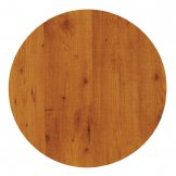 Werzalit Pre-drilled Round Table Top  Pine 700mm