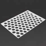 Schneider Serrated Cutting Sheet Round 72 Holes 45mm