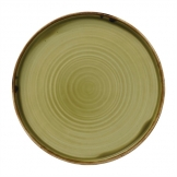 Dudson Harvest Green Walled Plate 220mm (Pack of 6)