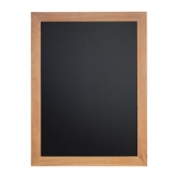 Securit Wall Mounted Blackboard 800x600mm Teak