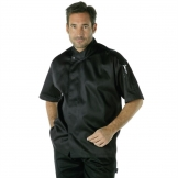 Chef Works Tours Cool Vent Executive Chefs Jacket Black L