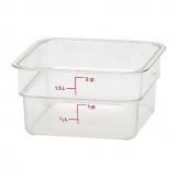 Cambro Square Polycarbonate Food Storage Container 1.9 Ltr