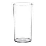 Polystyrene Hi Ball Glasses 285ml CE Marked (Pack of 48)