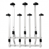 Olympia 7 Bottle Bar Optic Holder Wall Mount