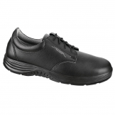 Abeba X-Light Microfiber Lace Up Safety Shoe Black 46