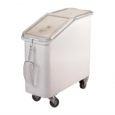 Cambro Mobile Ingredient Bin White 81Ltr