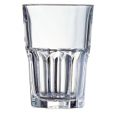 Arcoroc Granity Hi Ball Glasses 350ml CE Marked at 285ml (Pack of 48)