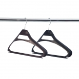 Bolero Black Polypropylene Hangers (Pack of 100)
