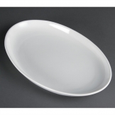 Olympia French Deep Oval Plates 365mm (Pack of 2)