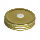Olympia Mason Jar Lid with Straw Hole (Pack of 12)