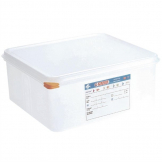 Araven Polypropylene 2/3 Gastronorm Food Storage Container 13.5Ltr