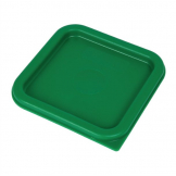 Cambro Camsquare Food Storage Container Lid Green