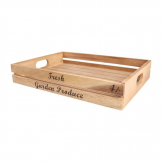 Large Rustic Fruit and Veg Crate