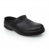 Lites Unisex Safety Clogs Black 36