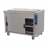 Moffat Bain Marie Top Eco Hot Cupboard Heavy Duty HB3E