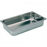 Bourgeat Stainless Steel 1/1 Gastronorm Pan 100mm