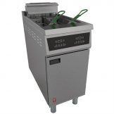 Falcon 400 Series Twin Tank Twin Basket Free Standing Electric Fryer E422