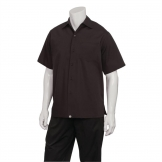 Chef Works Cafe Shirt Black L