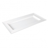 Dalebrook Melamine Rectangular Dover Tray White 375mm