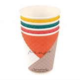 Huhtamaki Pause Disposable Coffee Cups Double Wall 340ml / 12oz (Pack of 740)