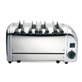 Dualit 4 Slice Sandwich Toaster Stainless Steel 41036