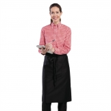 Chef Works Womens Gingham Shirt Red L
