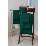 Essentials Nova Hand Towel Dark Green (500g)
