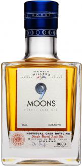Martin Millers - 9 Moons Bourbon Barrel Aged Gin (35cl Bottle)